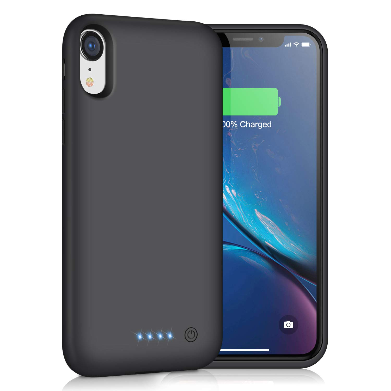 Funda Con Bateria de 6800mah para Apple Iphone Xr TRSWYOP [7HRBBRY3]