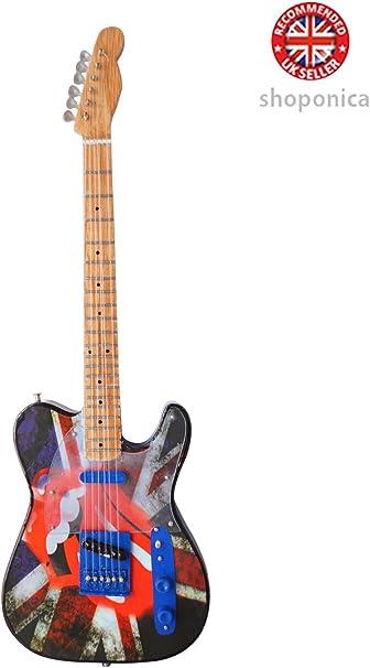 Rolling Stones - homenaje A la guitarra en miniatura de madera ...
