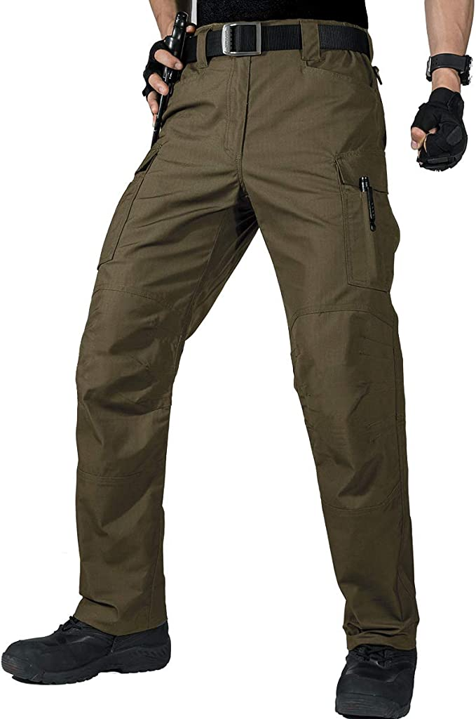 army green military work pant