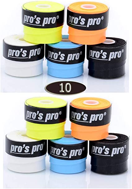 Pro 10 Overgrip Pros Tacky Tennis Grips Super Tacky: Amazon.es ...