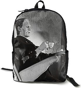 Frankenstein Backpack Laptop Backpack College School Backpack Daypack Book Bag Computer Bag Laptop Travel Bag for Men Women Boys Girls