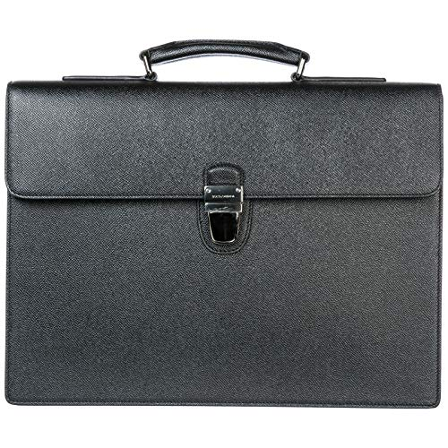 Dolce&Gabbana men briefcase nero Dolce & Gabbana Leather Satchel