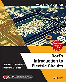 buy introduction to electric circuits book online at low prices indorf\u0027s introduction to electric circuits, wiley india edition
