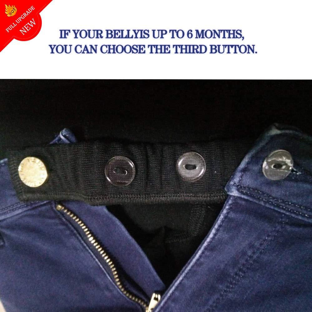 Extensión de Cintura Ajustable para Jeans y Pantalones ...