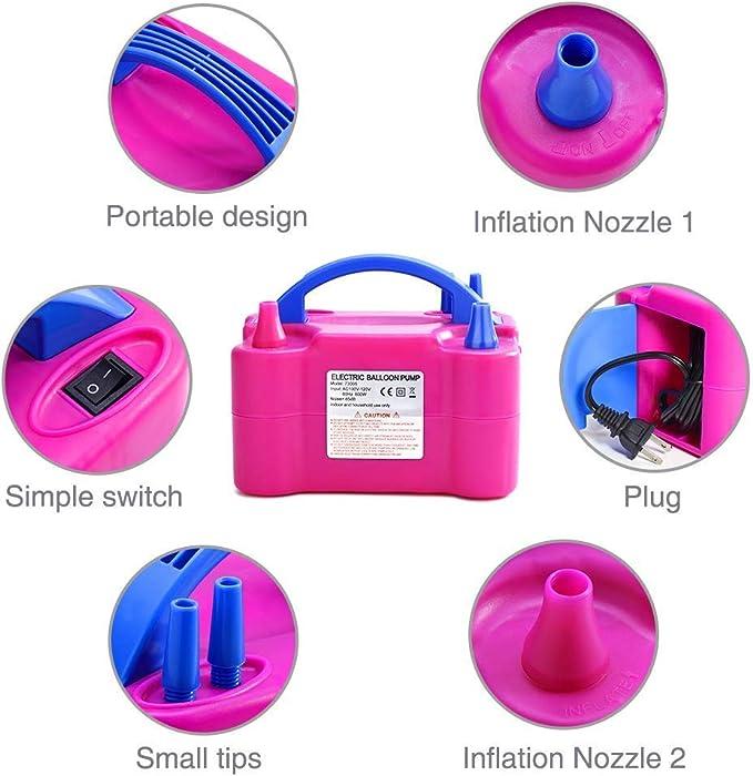 Gearmax® 600w de la Bomba de Aire Eléctrica Eléctricas con Balón ...