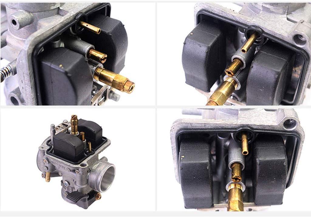 qiuxiaoaa 20 Pcs Carburateur Jet Principal Kit avec Remplacement Lent//Pilote Jet Set pour Gy6 Cvk Moto Pi/èces