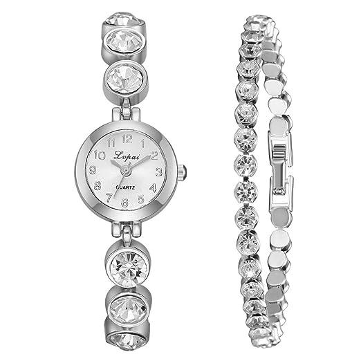 Daylin Conjunto Relojes Mujer De Moda Con Caja Reloj Pulsera