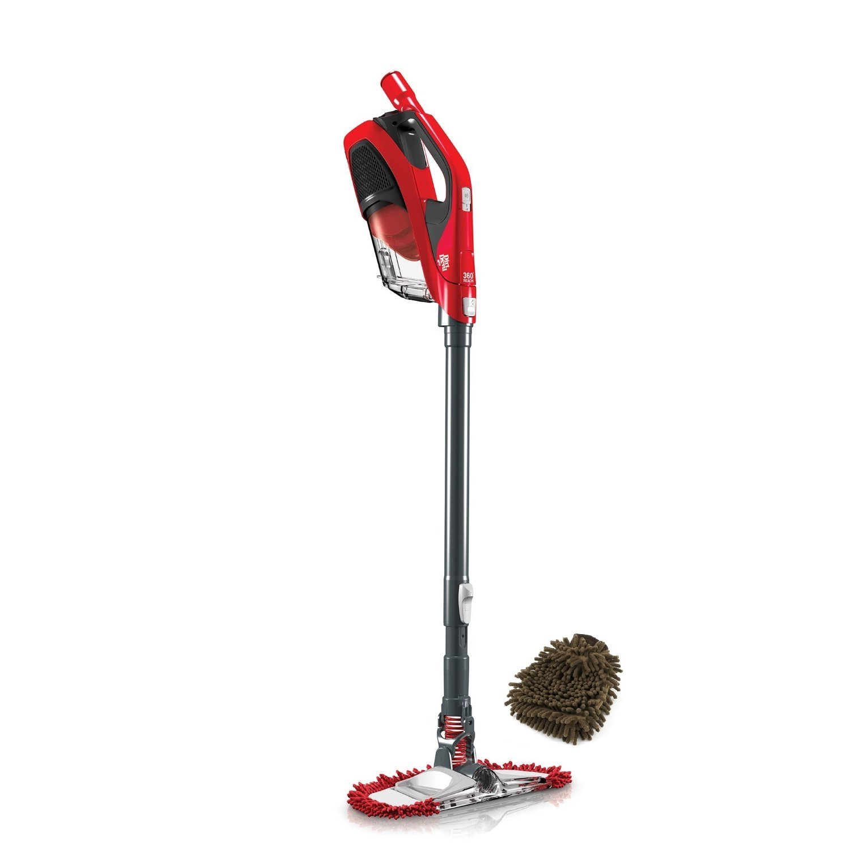 Dirt Devil 360° Reach Pro Bagless Stick Vacuum SD12515B (Complete Set) w/ Gift: Premium Microfiber Cleaner