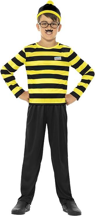 Smiffys ¿Dónde está Wally Odlaw - Traje de Disfraces para niños ...