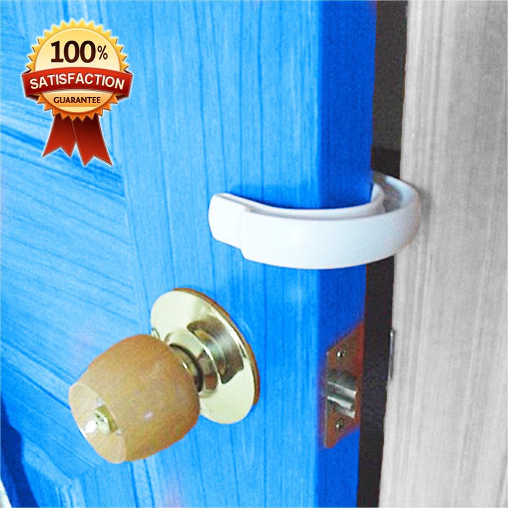 2 Pack - Safety Toddler Tür Stoppers, Prevents Tür aus Closing auf Fingers, Finger Pinch Guard für Kunst / Children / Pets und Dogs