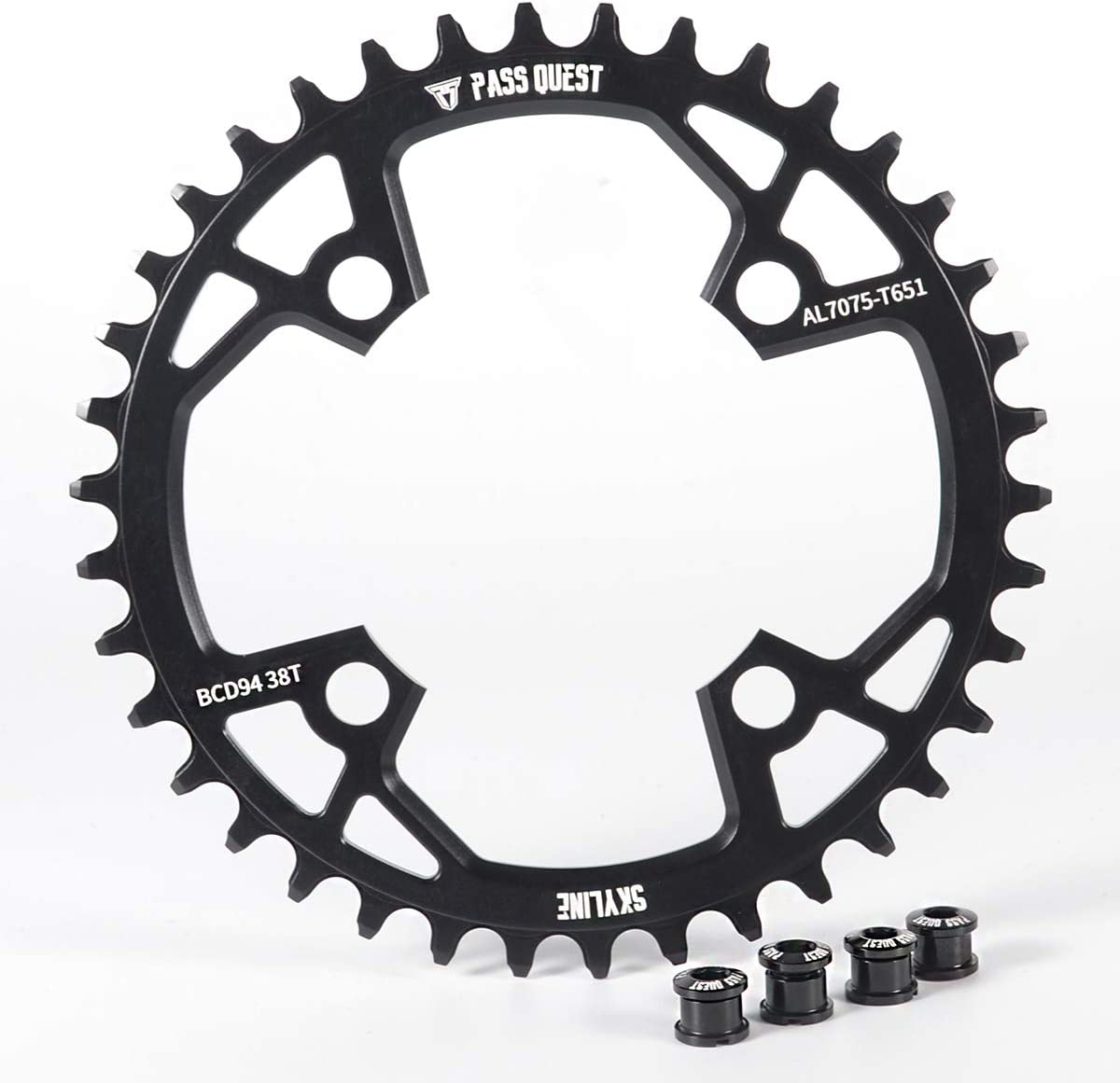 PASS QUEST 94BCD MTB Narrow Wide Chainring//Chain Ring 32T//34T//36T//38TBike Bicycle Chainwheel//Chain Wheel Crankset