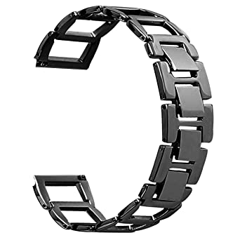 Amazon.com: Stainless Steel for Fitbit Blaze Watch Band ...