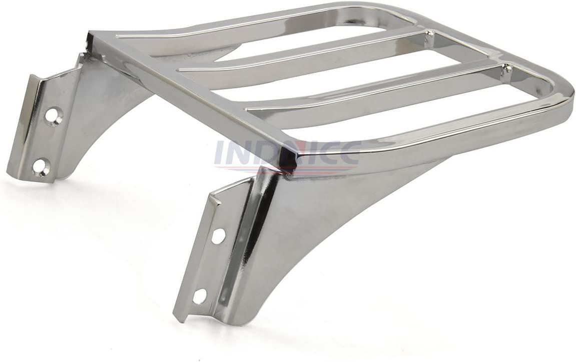 Chrome harley sportster sissy bar dyna Backrest softail Luggage Rack For Harley davidson parts