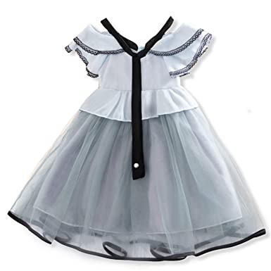 ee35b6541a68 TTYAOVO Girls Summer Fashion Off Shoulder Layered Tulle Princess Dresses  Kids Birthday Wedding Casual Wear Size