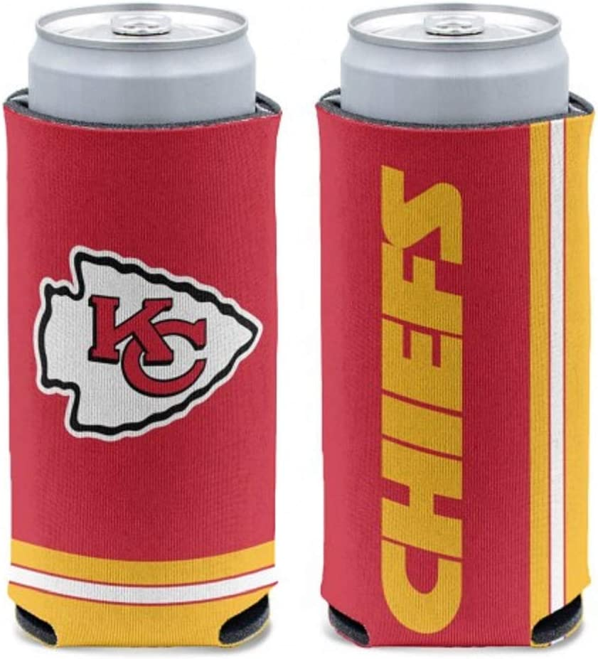 WinCraft Kansas City Chiefs 12 oz Slim Can Cooler