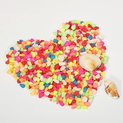 NACOLA Piedras decorativas para jardín, 500 g, granos pulidos, para acuarios de plantas