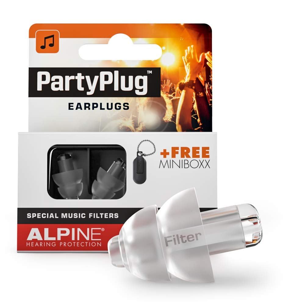 Alpine PartyPlug Music Ear Plugs – Noise Reduction Ear Plugs