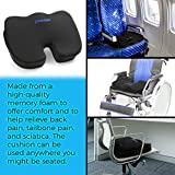 Plixio Gel Seat Cushion Memory Foam Chair Pillow