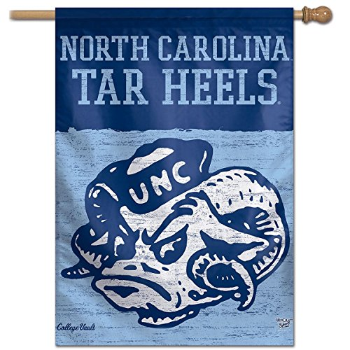 - WinCraft North Carolina Tar Heels Vault Throwback Retro Vintage House Flag