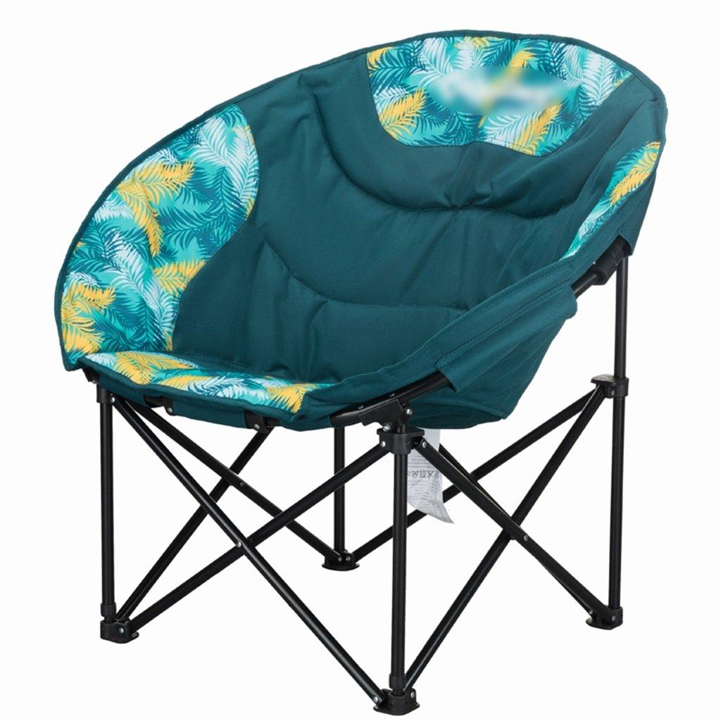 ZGL 旅行椅子 屋外バックライト超軽量釣り椅子レイジー折りたたみチェアポータブルチェアカジュアルダイニングチェアランチラウンジライトの色オプション ( 色 : Green-1 ) B07CG5RK38 Green-1 Green-1