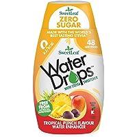 SweetLeaf Water Drops Tropical Punch Flavoured Water Enhancer, 48 ml