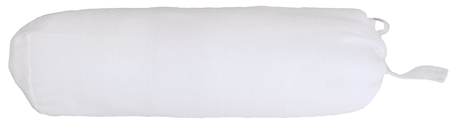 Taftan Hydrophilic Organic Cotton Double Woven Fitted Sheet 70 x 140 cm, White
