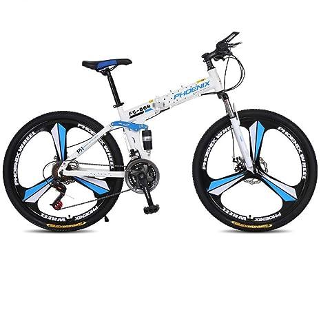 CHEZI Mountain BikeBicicleta Plegable Bicicleta de montaña ...