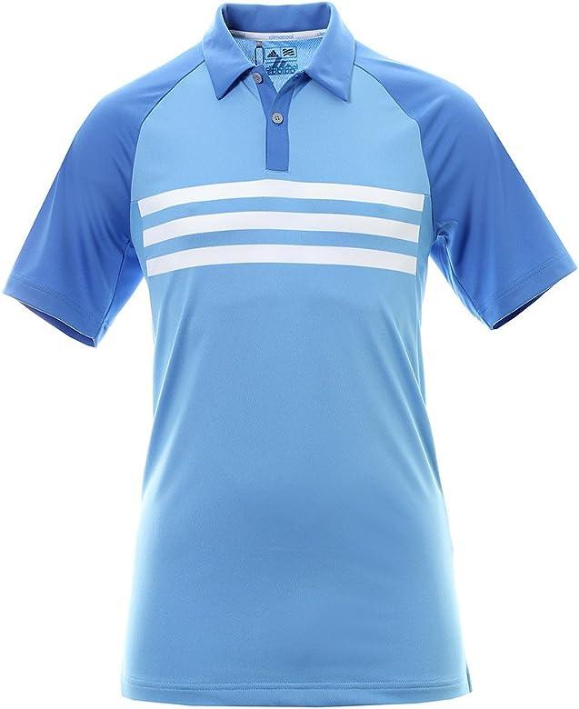 adidas Climacool 3 Stripes Competition Camiseta Polo de Manga ...
