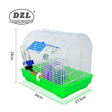 DI ZE LIN PET HOME S.L DZL® Jaula para Hamster 34 * 23.5 * 29cm