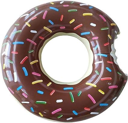 Amaoma Donut Hinchable Flotador Donut Flotador Hinchable con Forma ...