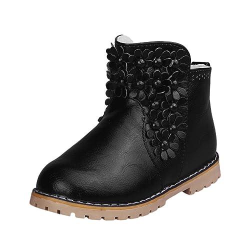 Baby Shoes Boots, SOMESUN Bambini Moda Bambino ragazze Martin Sneaker Scarpe bambini Baby Shoes Casual (33, Brown)