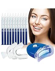 Zahnaufhellung Gel,Teeth Whitening Kit,Professionelle Zahnaufhellung Kit,Gegen Gelbe Zähne,Rauchflecken,Schwarze Zähne