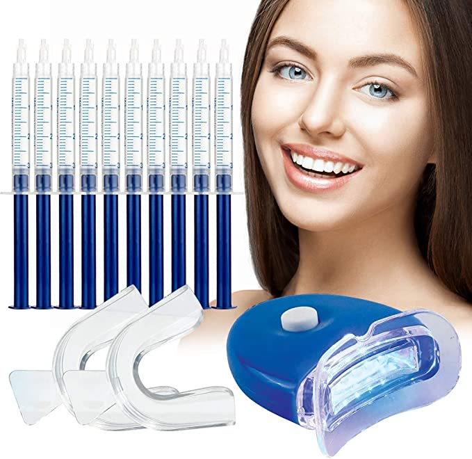 150 opinioni per Gel Sbiancante per Denti,Teeth Whitening Kit,Sbiancamento Denti Denti Bianchi
