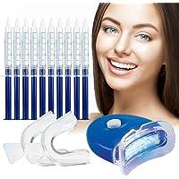 Teeth Whitening Kit,Tandenbleekset,tanden bleken,3D LED Tandenbleekset,10 Gelspuiten,Veilig Tanden Bleken Thuis…