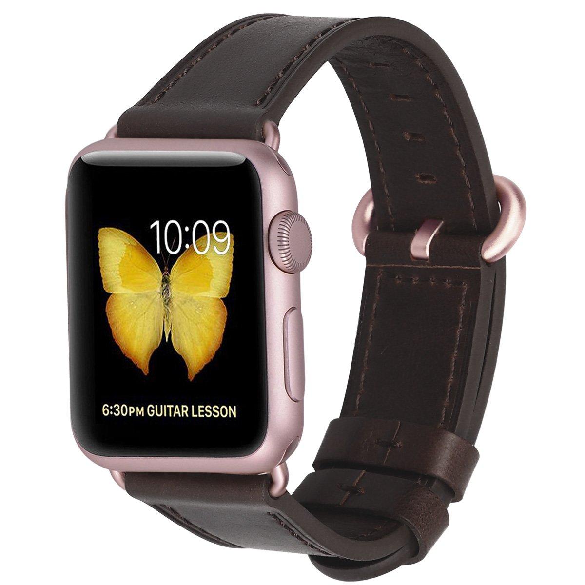 Malla Cuero para Apple Watch (38/40mm) PEAK ZHANG [7JNZKQR6]