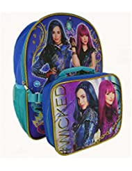 Disney Descendants 2 Kids Full Size Evie Mel #WICKED Backpack with Lunch Bag Combo Set