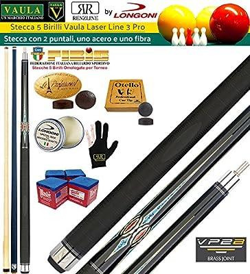 Longoni Vaula Laser 3 Pro Taco 2pz. cm. 141,5 Longoni, doble punta ...