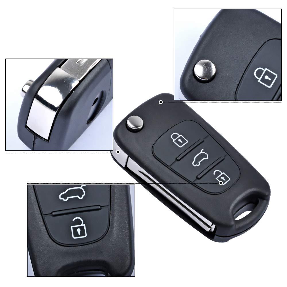 Repuesto de Llavero Hyundai para Hyundai i10, i20, i30, ix20 ...