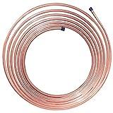 25 ft 3/8'' NiCopp Nickel/Copper Brake/Fuel/Transmission Line Tubing Coil (Universal Size)