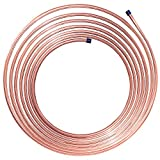 25 ft 3/8 in Brake Line Copper-Nickel Tubing Coil (Universal Size)
