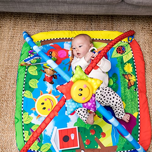 61ApgcswUuL - Baby Einstein Caterpillar & Friends Play Gym with Lights and Melodies, Ages Newborn +