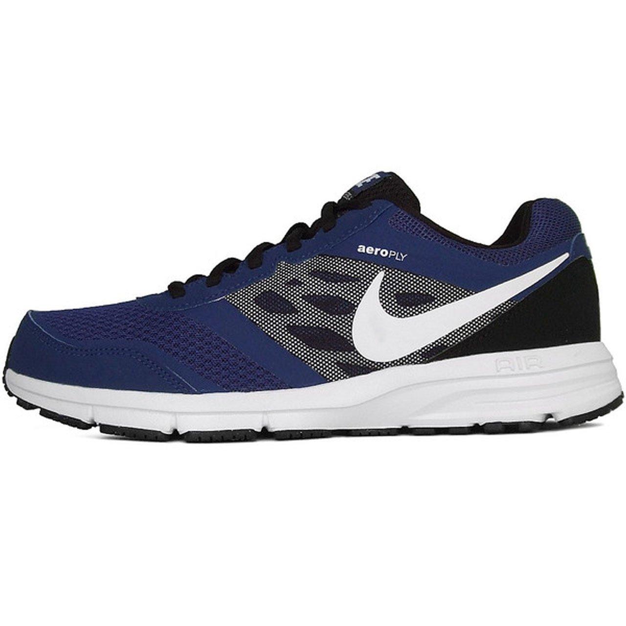 Nike Herren Air Relentless 4 MSL Deep Royal Blue, White and Black Mesh Running schuhe 9 UK