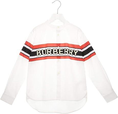 BURBERRY 8022075 - Camisa blanca para chico Blanco talla de ...