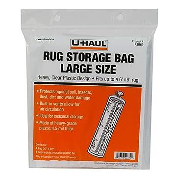 amazon uhaul rug storage bag large size up to 6x9 収納家具