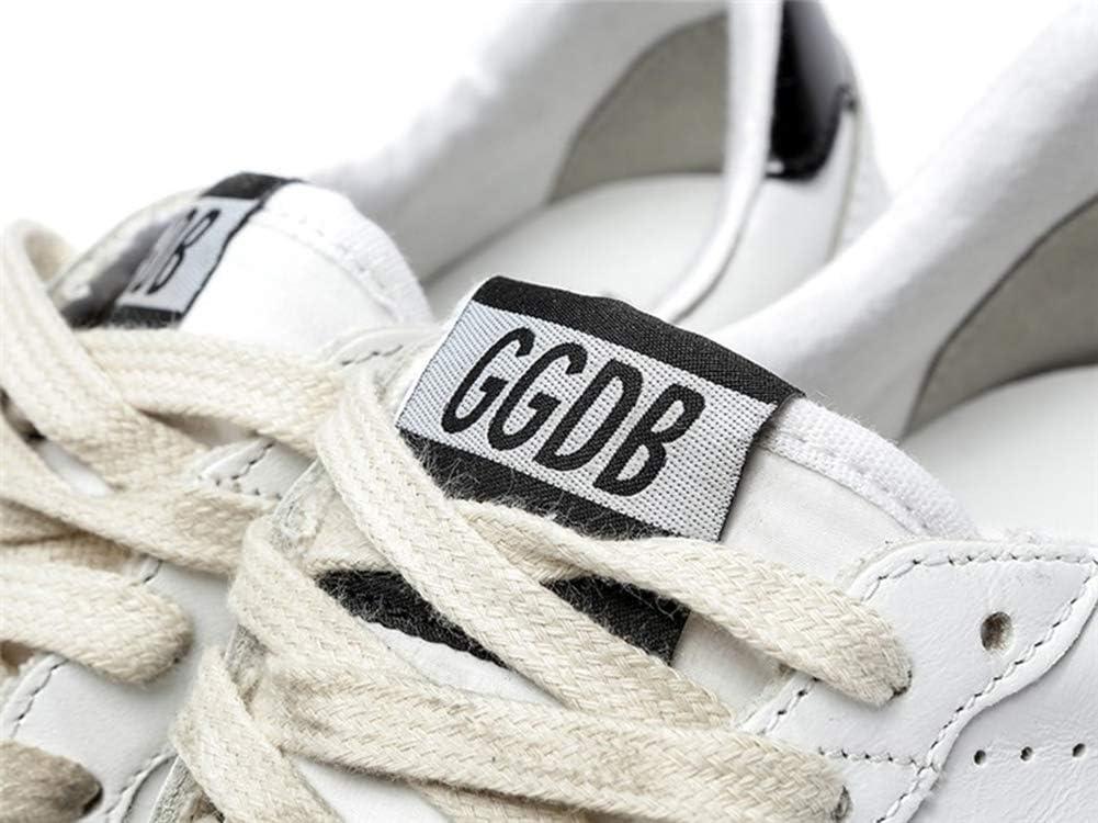 Gouden Gans Vrouwen Trainers Sneakers Lederen GGDB Casual Schoenen Super Star Slide Zwart