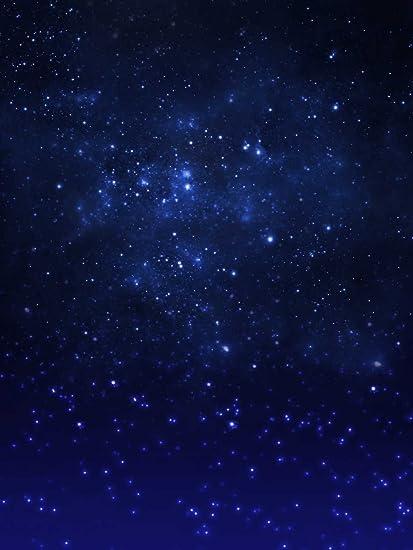 Cielo Stellato Sfondo.Blu Cielo Stellato Fondali Fotografia Spazio Esterno