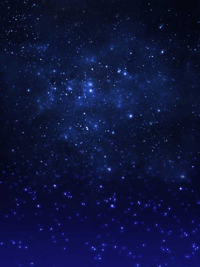 Blu Cielo Stellato Fondali Fotografia Spazio Esterno Digitale