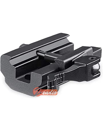 zeadio rápido Separa, Adaptador Montaje del bípode para 20mm Picatinny/Weaver Carril, ZBP