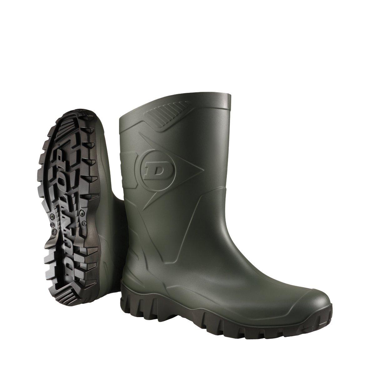 Dunlop K580011 PVC KUITLAARS GROEN 47, Bottes en Caoutchouc de sécurité Adulte...