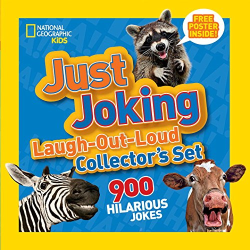 National Geographic Kids Just Joking Laugh-Out-Loud Collector's Set: 900 Hilarious Jokes (Just Joking: National Geographic Kids)